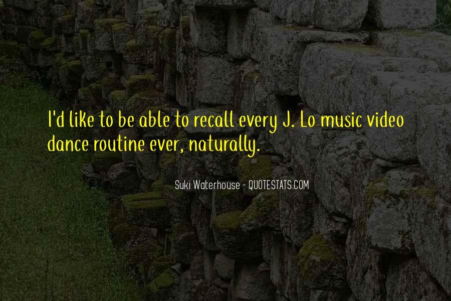 Suki Waterhouse Quotes #986754