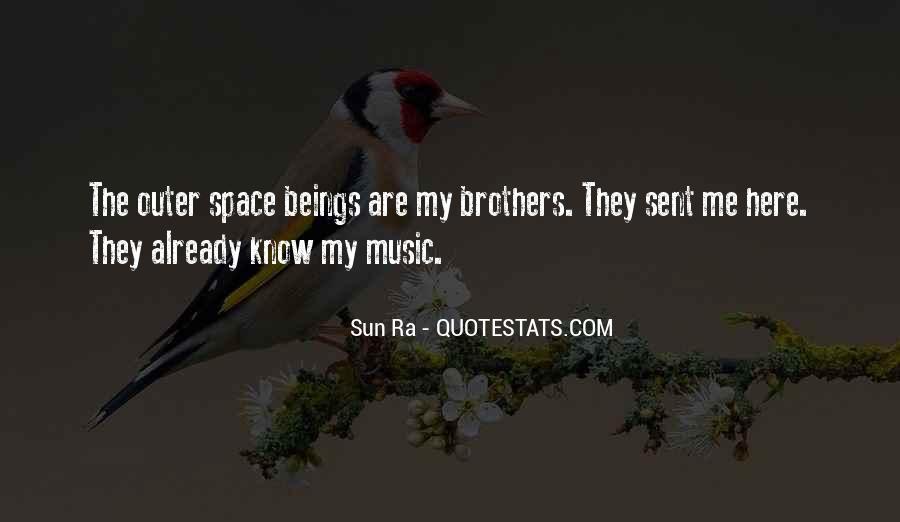 Sun Ra Quotes #1751166