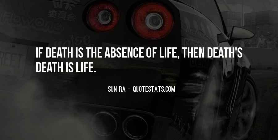 Sun Ra Quotes #1756222