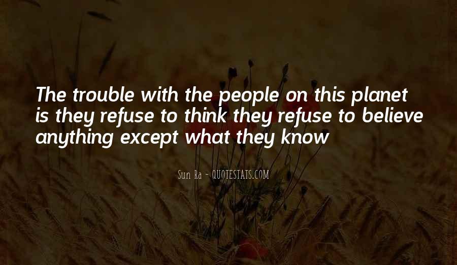Sun Ra Quotes #419712