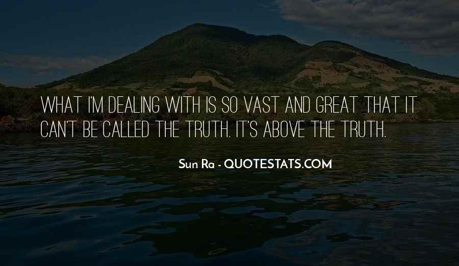 Sun Ra Quotes #840422