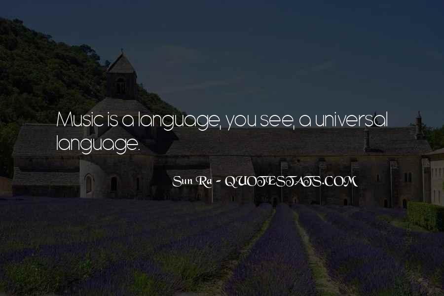 Sun Ra Quotes #902554