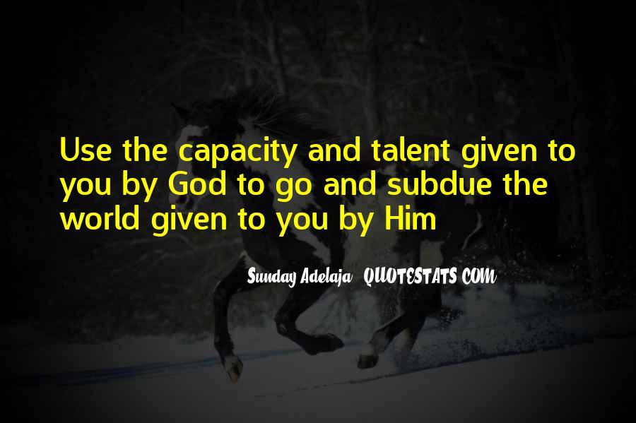 Sunday Adelaja Quotes #11695