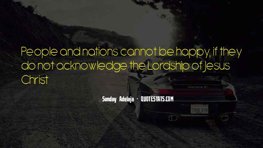 Sunday Adelaja Quotes #18027