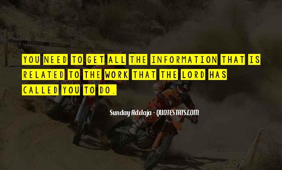 Sunday Adelaja Quotes #32879