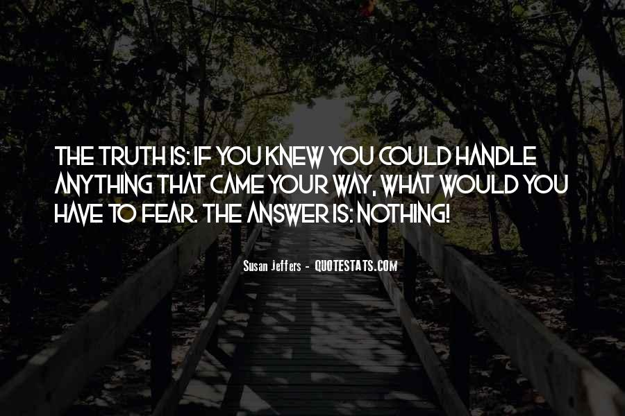 Susan Jeffers Quotes #133853