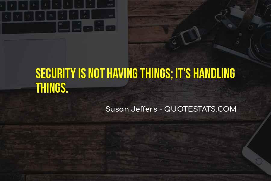 Susan Jeffers Quotes #1482718