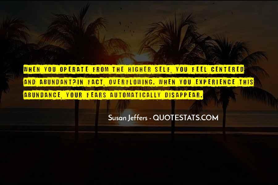 Susan Jeffers Quotes #265312