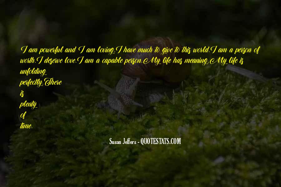 Susan Jeffers Quotes #338218