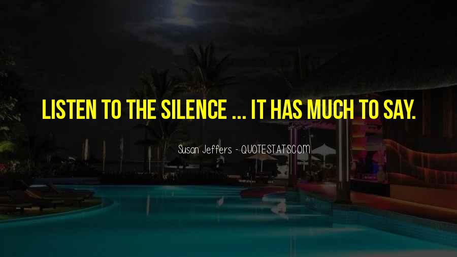 Susan Jeffers Quotes #507590