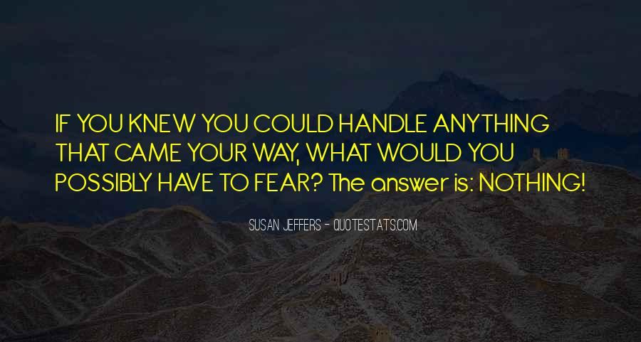 Susan Jeffers Quotes #637792