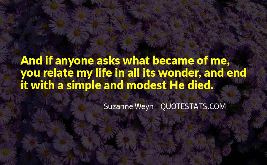 Suzanne Weyn Quotes #735821