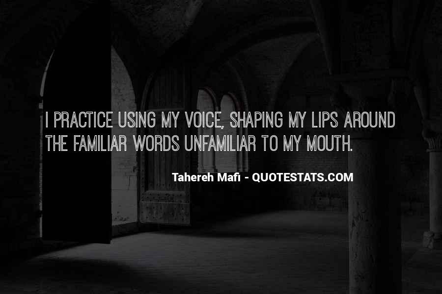 Tahereh Mafi Quotes #158037