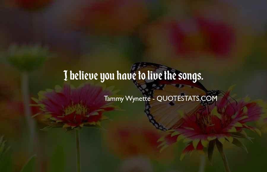 Tammy Wynette Quotes #768531