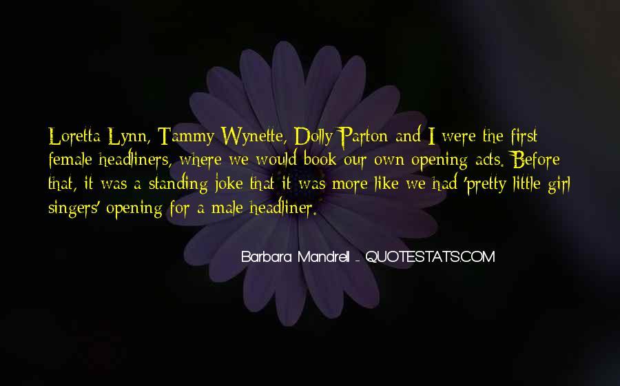 Tammy Wynette Quotes #976260