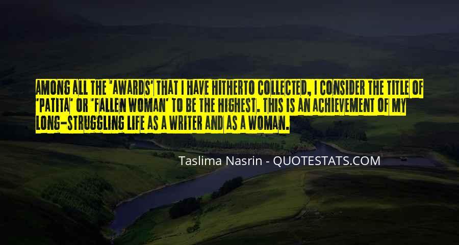 Taslima Nasrin Quotes #730354