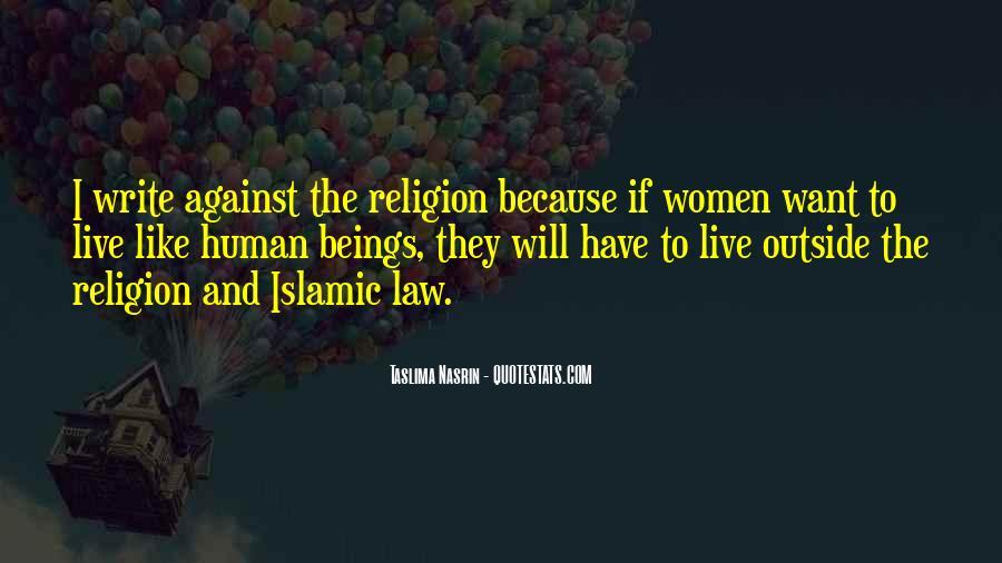 Taslima Nasrin Quotes #815050