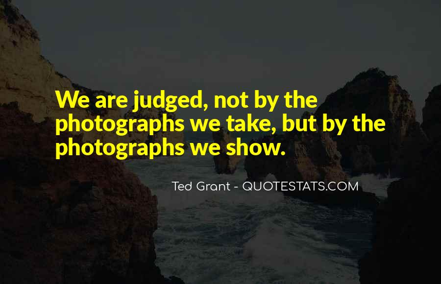 Ted Grant Quotes #27050