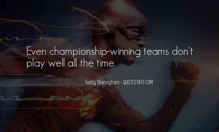 Teddy Sheringham Quotes #1109165