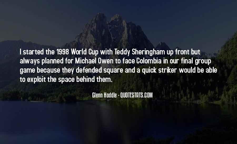 Teddy Sheringham Quotes #1402437