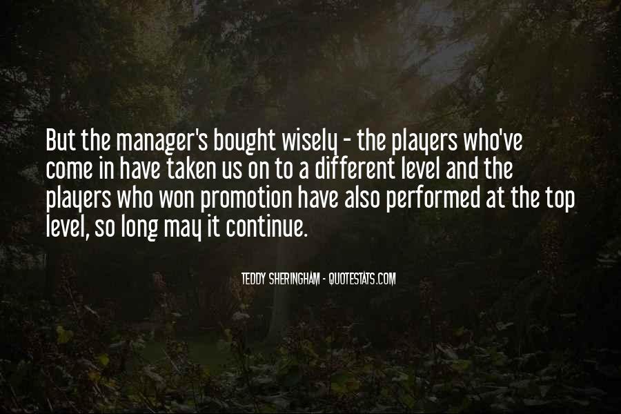 Teddy Sheringham Quotes #1627103