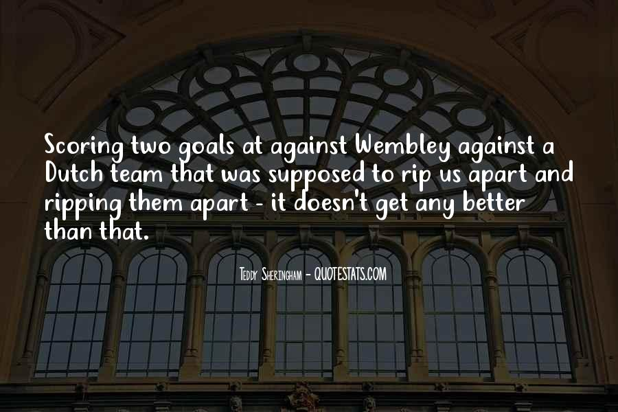 Teddy Sheringham Quotes #968755