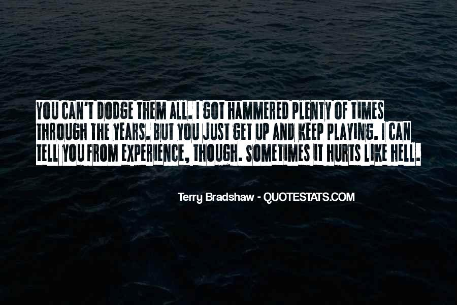 Terry Bradshaw Quotes #1169803