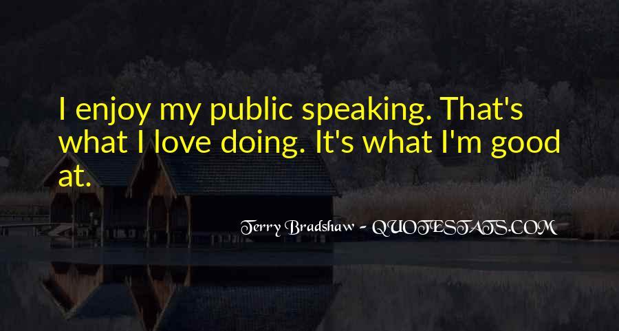 Terry Bradshaw Quotes #1620132
