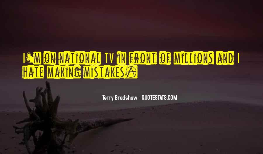Terry Bradshaw Quotes #348494
