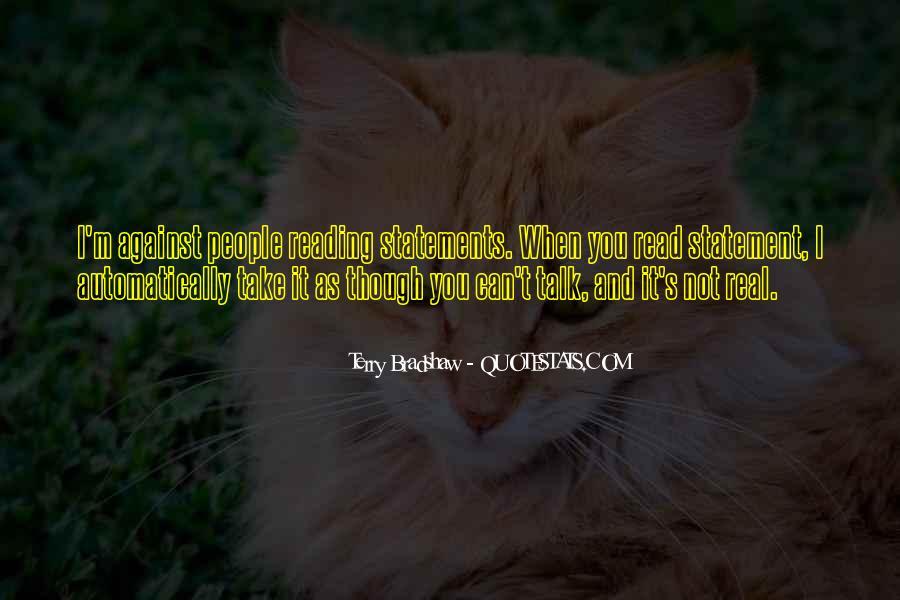 Terry Bradshaw Quotes #587698