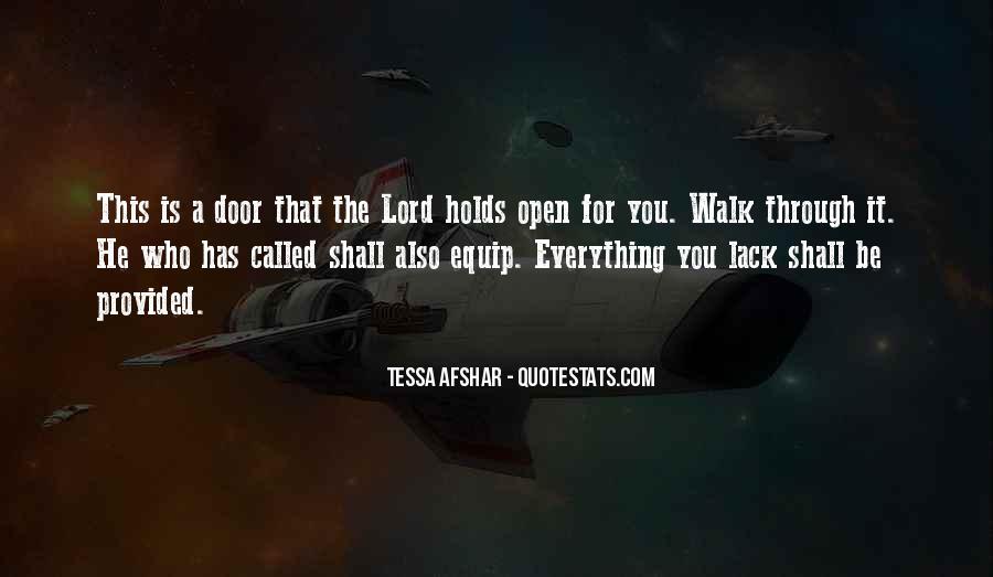 Tessa Afshar Quotes #1326455