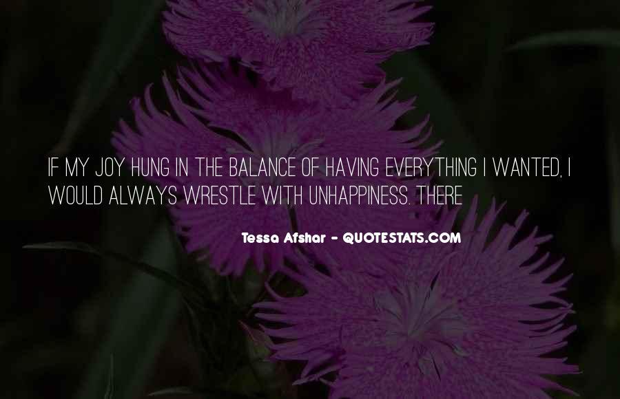 Tessa Afshar Quotes #1421391