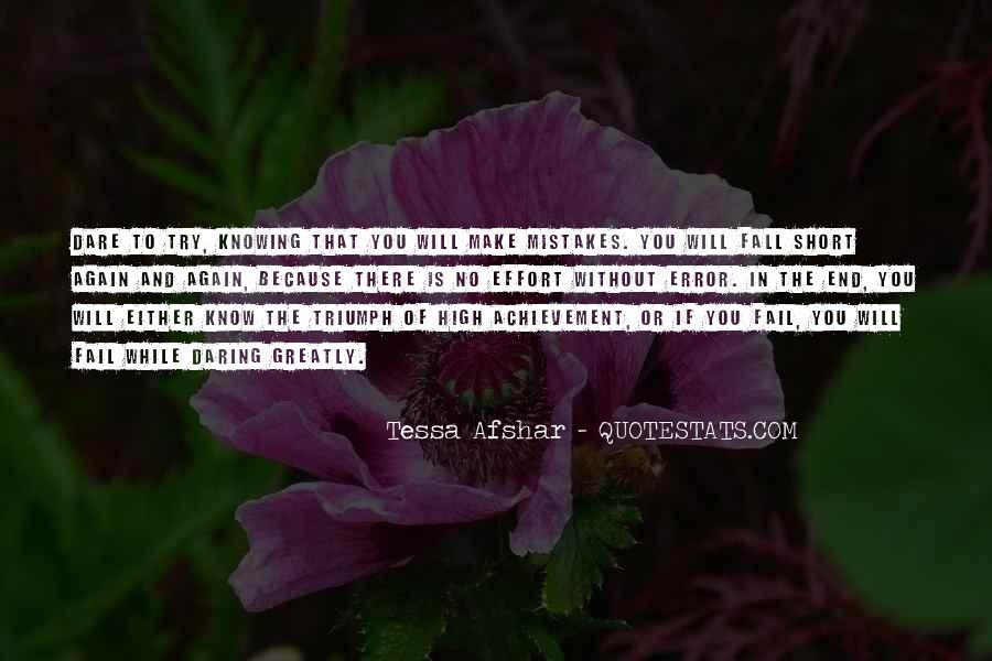 Tessa Afshar Quotes #1591169
