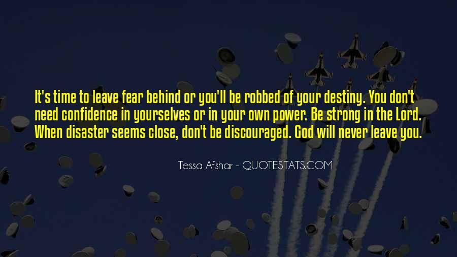 Tessa Afshar Quotes #893894