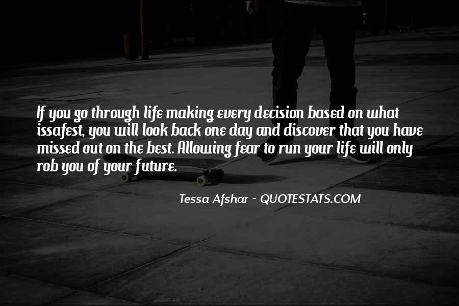 Tessa Afshar Quotes #898763