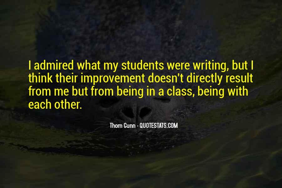Thom Gunn Quotes #1011662