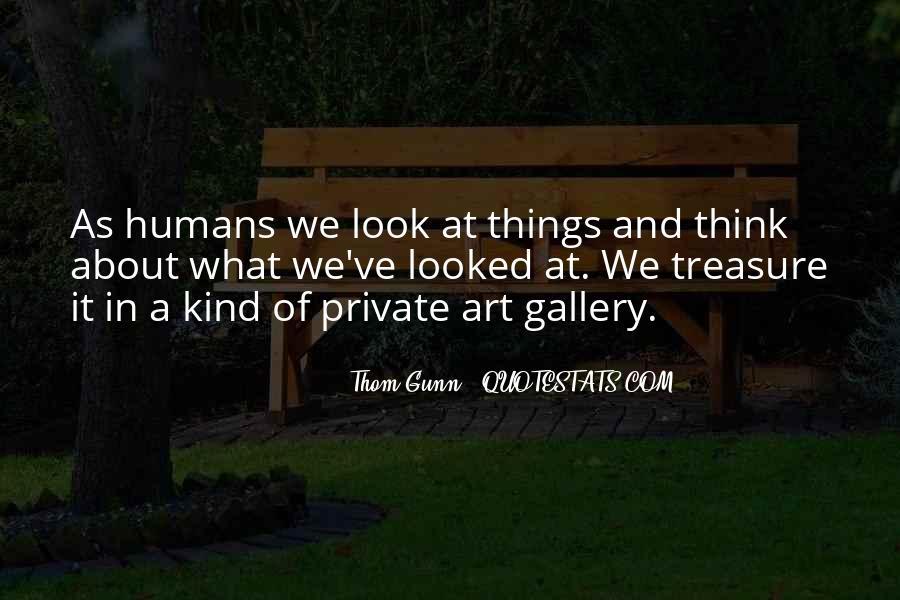 Thom Gunn Quotes #1227495