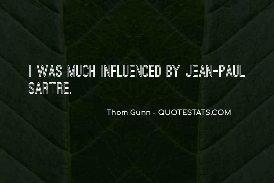 Thom Gunn Quotes #162097