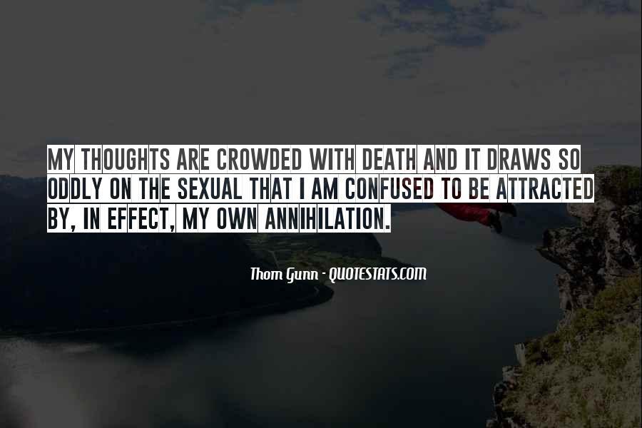 Thom Gunn Quotes #252919