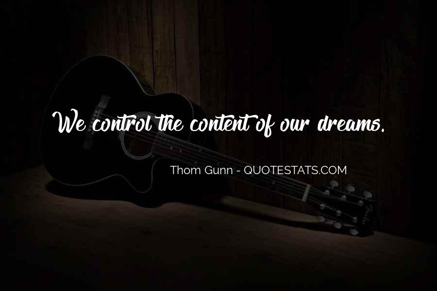 Thom Gunn Quotes #310907