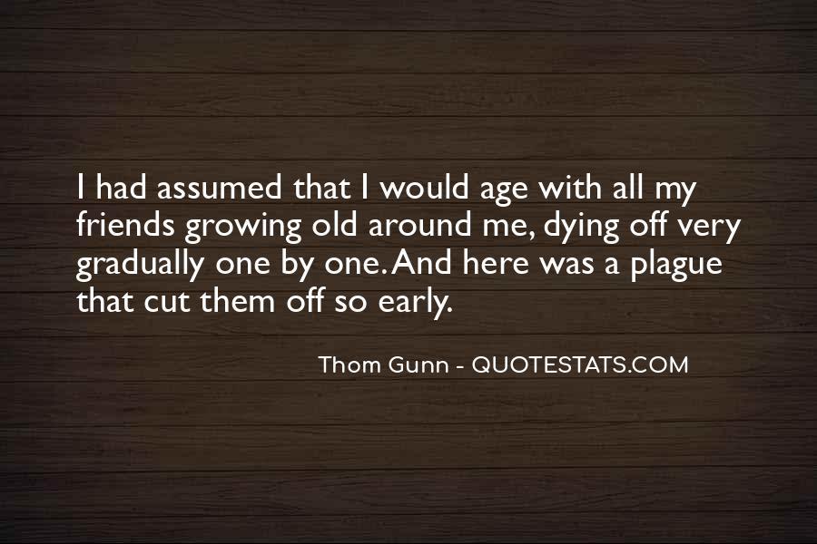 Thom Gunn Quotes #380005