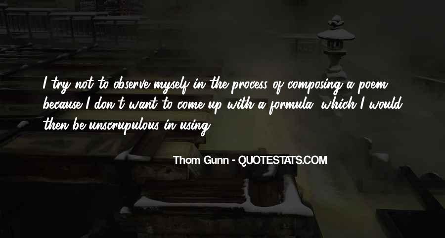 Thom Gunn Quotes #444761
