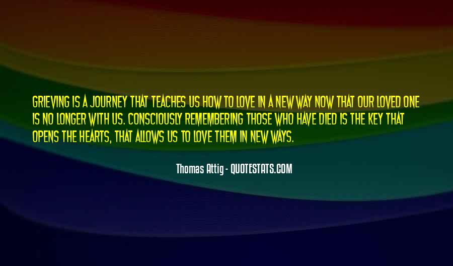 Thomas Attig Quotes #1844426
