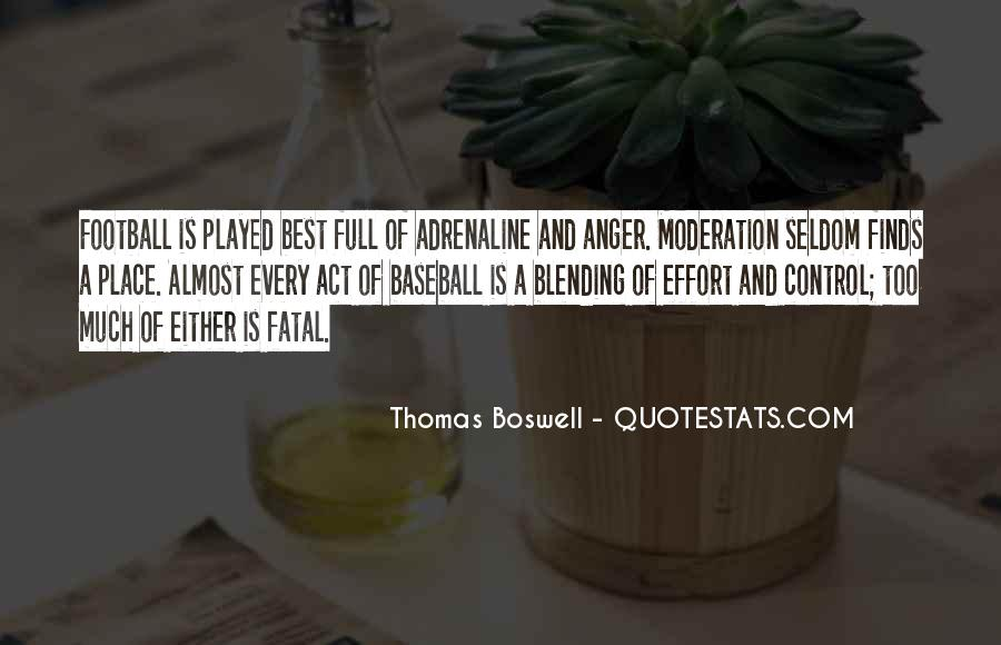 Thomas Boswell Quotes #1003946