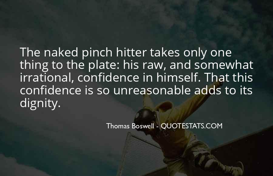 Thomas Boswell Quotes #1381520