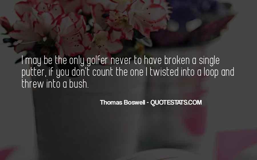 Thomas Boswell Quotes #1387010