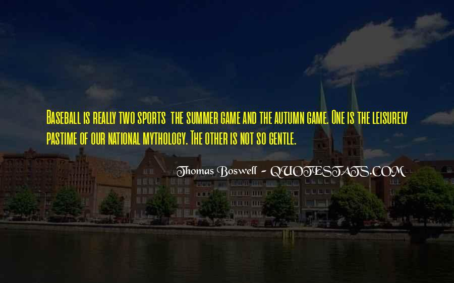 Thomas Boswell Quotes #148509