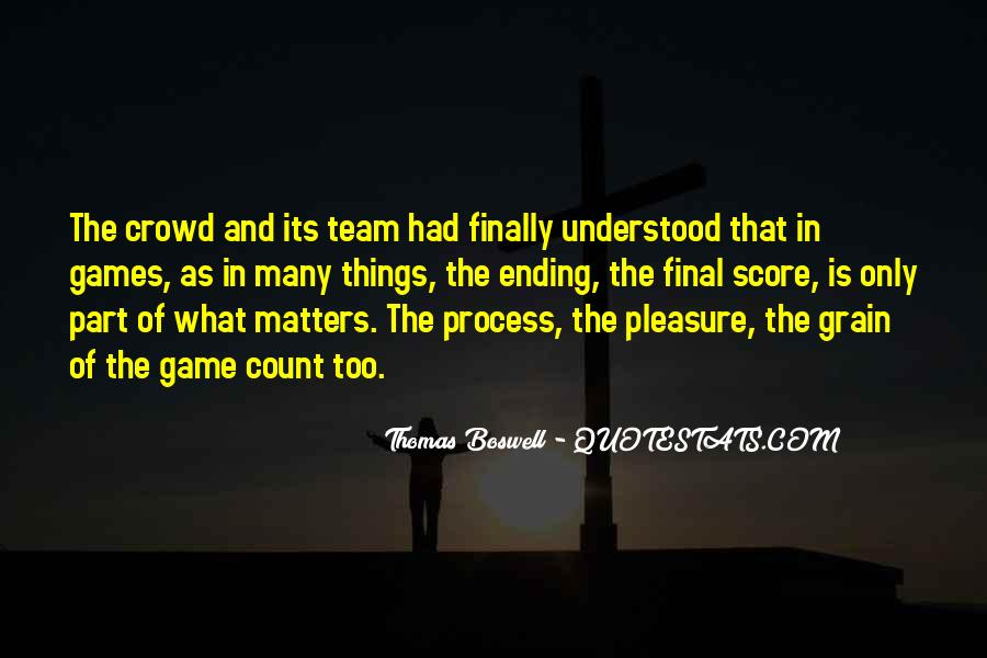 Thomas Boswell Quotes #1558885