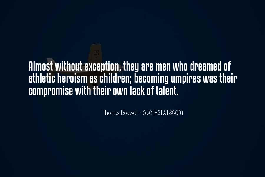 Thomas Boswell Quotes #1746976