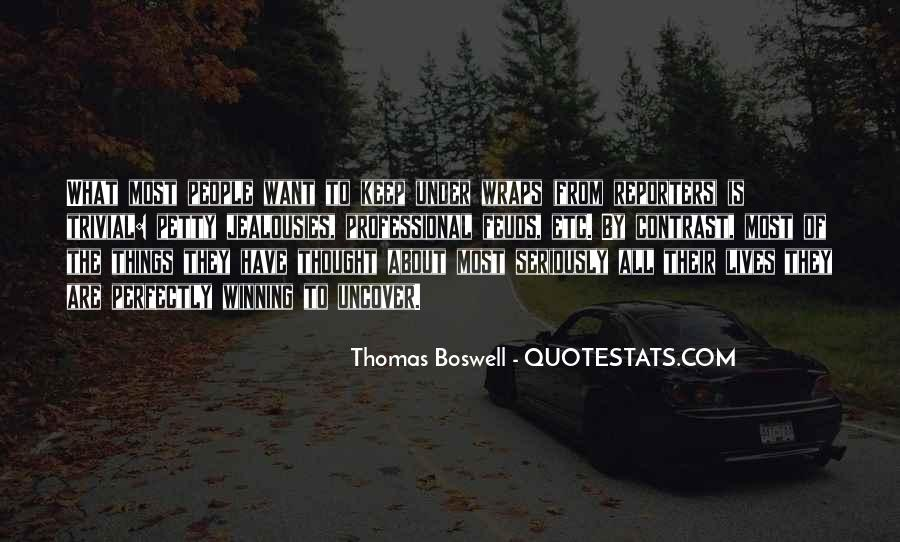 Thomas Boswell Quotes #353034